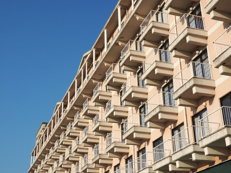 compose: Hotel balcony compose regular art