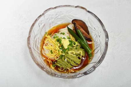 dinne: Somen - Japanese style thin wheat flour noodles -