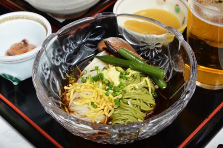 Somen - Japanese style thin wheat flour noodles -