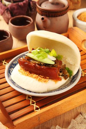 gua: ?Gua Bao (Steamed sandwich )- A traditional Taiwan food