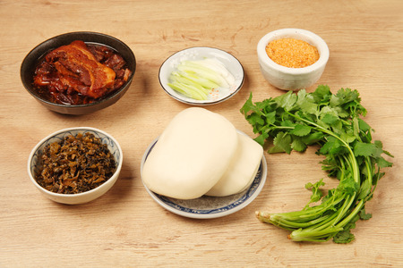 ?Gua Bao (Steamed sandwich )- A traditional Taiwan food