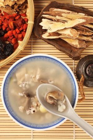 Four flavor herb soup - A Popular Taiwan food