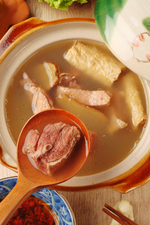 ducks: Ginger duck with rice wine - A popular Taiwan food