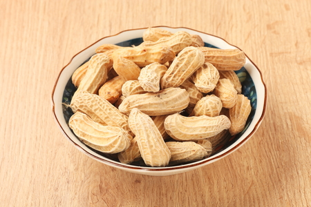 bowel: Dry peanuts in the bowel
