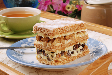 multilayer: Multi-layer biscuit for tea time