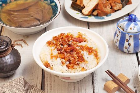 lard: Lard rice is a popular food in Taiwan