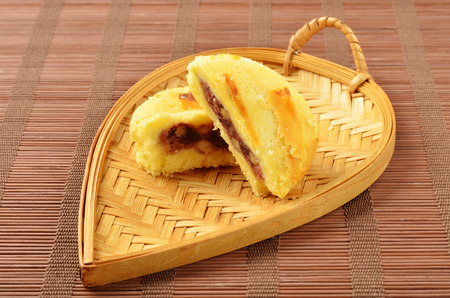 Flower cake is Yunnan classic snacks on behalf of.
