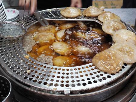 Taiwanese Meatball - Famous street gourmet snacks