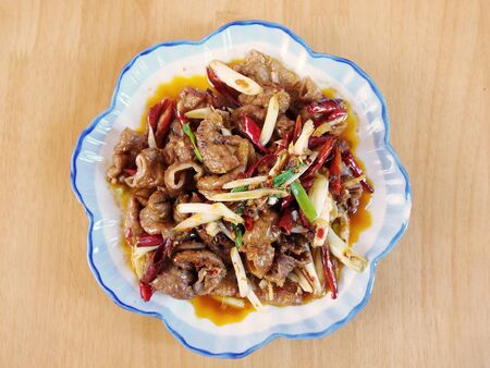 Delicious Chinese food - Braised pig's large intestines