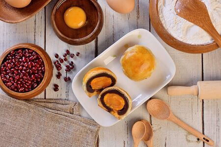 Taiwan delicious dessert - Egg yolk shortcake