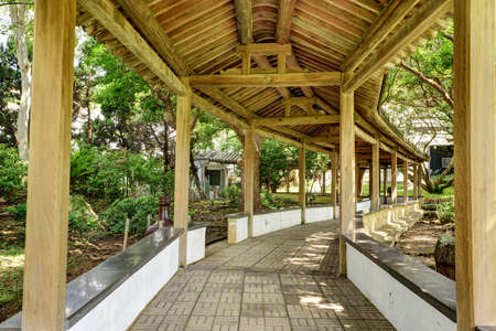 Long Corridor-one of Chinese classical garden buildings.