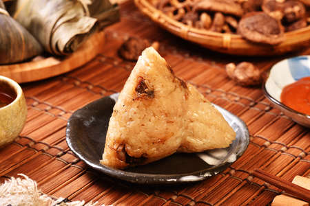 Chinese tradition food-steamed rice dumpling