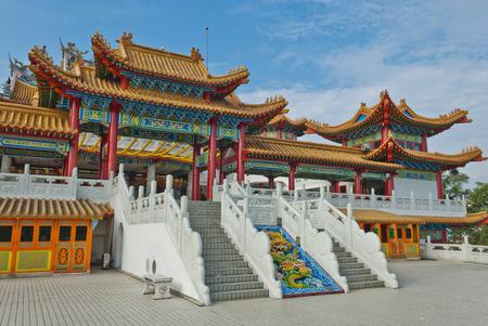 Thean Hou Temple, Kuala Lumpur The Thean Hou -  Temple is a landmark six-tiered Chinese temple in Kuala Lumpur.
