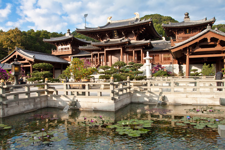 tang: Chi Lin Nunnery, Hong Kong - The Chi Lin Nunnery was founded in 1934 but was rebuilt in the 1990s. Editorial