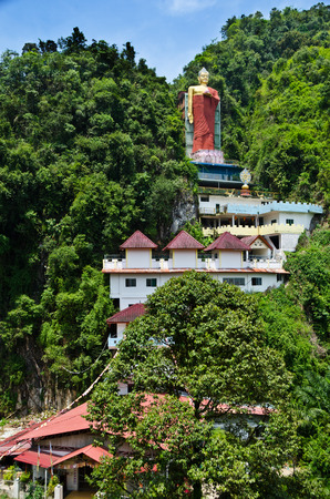 luscious: Tambun Tibetian Buddhist Temple, Perak - Tambun Tibetian Temple, also known as Jingang Jing She by the locals, is surrounded by magnificent perimeters of luscious valleys, orchards and limestone hills.