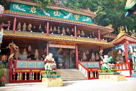 Ling Sen Tong, Temple cave, Ipoh, Malaysia