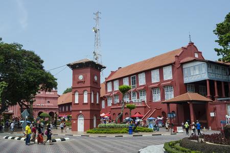 The Main Square of Melaka, Malaysia