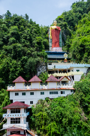 Tambun Tibetian Buddhist Temple, Perak - Tambun Tibetian Temple, also known as Jingang Jing She by the locals, This temple was built back in 1975 Stock Photo