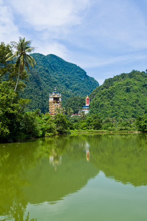 tibetian: Tambun Tibetian Buddhist Temple, Perak - Tambun Tibetian Temple, also known as Jingang Jing She by the locals, is surrounded by magnificent perimeters of luscious valleys, orchards and limestone hills.