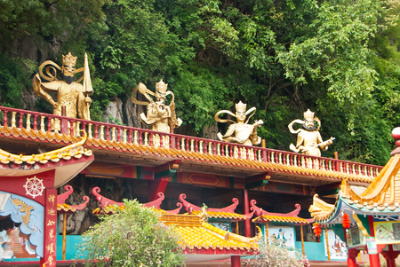 Statue at Ling Sen Tong, Temple cave, Ipoh
