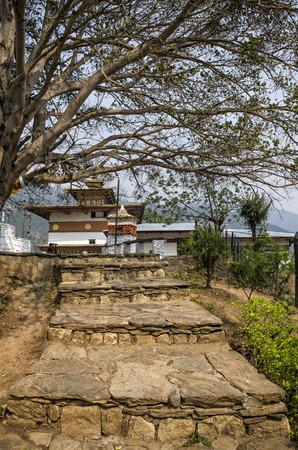 Chimi Lhakang Monastery, Punakha, Bhutan