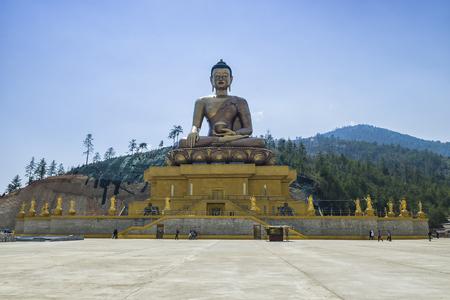 Bhuddha Dordenma, Thimphu, Bhutan Stock fotó