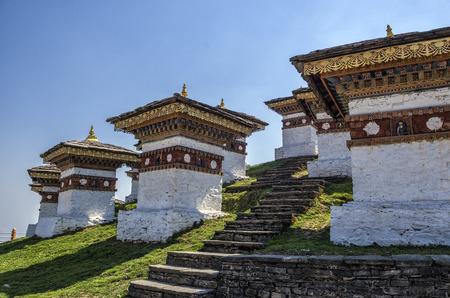 Dochula Pass, Punakha, Bhutan Stock Photo