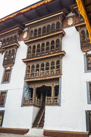 Punakha Dzong, Bhutan. Punakha Dzong or Pungthang Dewachen Phodrang (Palace of Great Happiness) in Punakha, the old capital of Bhutan.