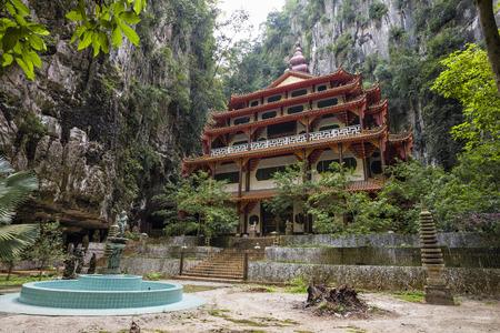 Abundant Temple in Sam Poh Tong, Ipoh, Malaysia