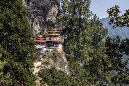 Taktshang monastery, Bhutan. Tigers Nest Monastery also know as Taktsang Palphug Monastery.