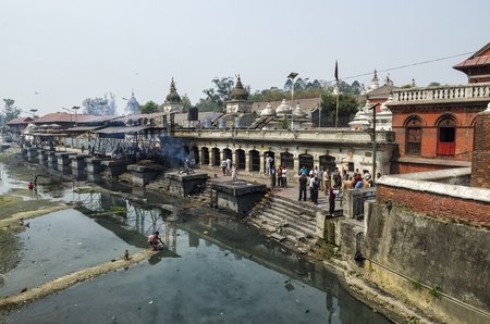 Pashupatinath serves as the seat of the national deity, Kathmandu, Nepal. Lord Pashupatinath and also the place of cremation ceremony along the holy Bagmati River in Bhasmeshvar Ghat.