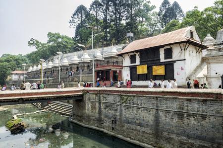 Pashupatinath serves as the seat of the national deity, Lord Pashupatinath, Kathmandu, Nepal