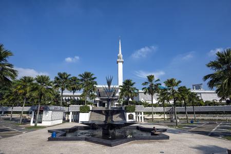 National Mosque of Malaysia (Masjid Negara), Kuala Lumpur, Malaysia. This mosque was declared open on 1965. National Mosque of Malaysia a.k.a. Masjid Negara. 報道画像