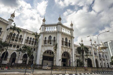 Famous historical architectural of Kuala Lumpur old railway station, Kuala Lumpur, Malaysia Reklamní fotografie - 129933947