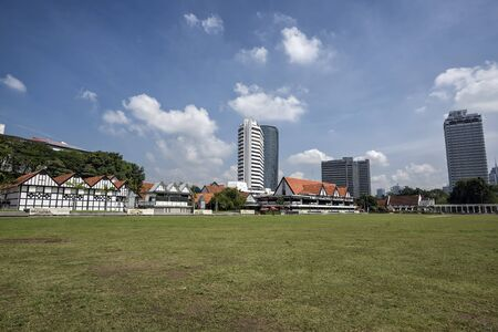 Merdeka Square. Kuala Lumpur, Malaysia. Merdeka Square is a popular tourist attraction in front of the Sultan Abdul Samad Building.