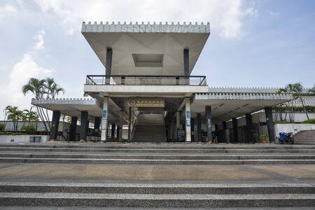 National Mosque of Malaysia (Masjid Negara), Kuala Lumpur, Malaysia. This mosque was declared open on 1965.- National Mosque of Malaysia a.k.a. Masjid Negara