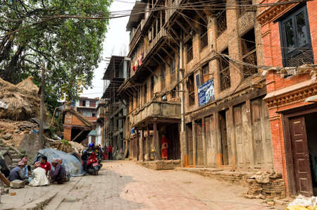 The lifestyle and living environment in Kathmandu, Nepal. Kathmandu is the capital and largest municipality of Nepal. Editorial