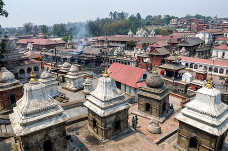 Pashupatinath serves as the seat of the national deity, Lord Pashupatinath, Kathmandu, Nepal. It is also the place of cremation ceremony along the holy Bagmati River in Bhasmeshvar Ghat.