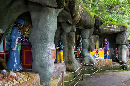 The scenic site of Chin Swee Caves Temple, Genting Highland, Malaysia. The Chin Swee Caves Temple is situated in the most scenic site of Genting Highlands. Editorial