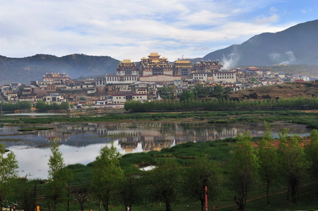 monastery: Ganden Sumtseling Monastery