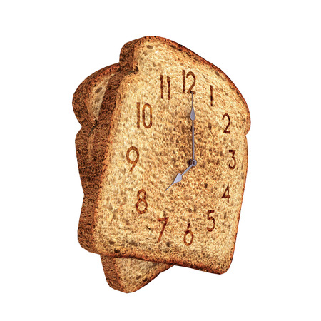 toast clock photo