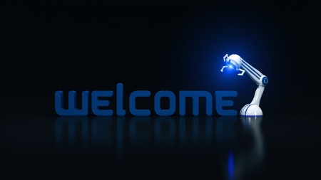 welcome robotic photo