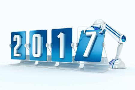 Happy new year 2017 photo
