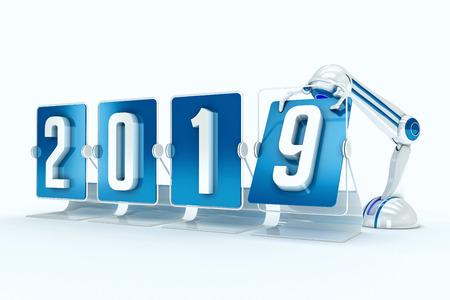 Happy new year 2019 photo