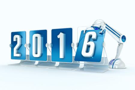 Happy new year 2016 photo