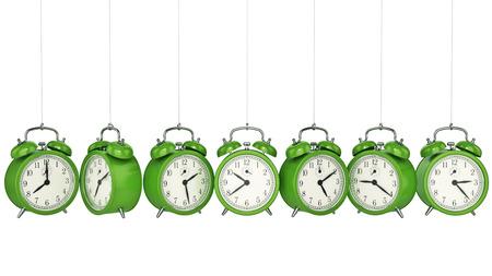 icon 3d: Clock alarm 3D. Time concept.