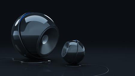 acoustic systems: 3D sphere speaker