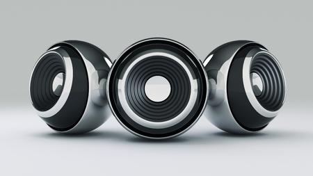computer speaker: 3D sphere speaker
