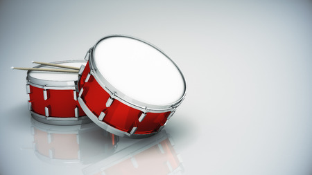 bass drum: Bass drum isolated
