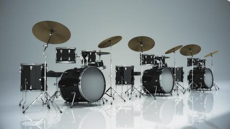 drum kit: Drum kit isolated